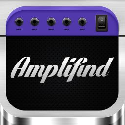 Amplifind Music Player and Visualizer